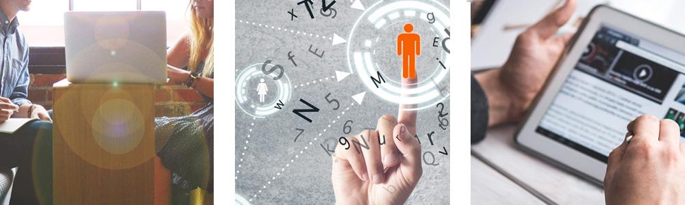 communicate, analyze, engage