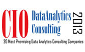 CIO one of 20 Most Promising Data Analytics Consulting Companies 2013