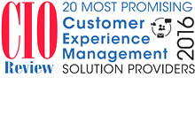 CIO Review 20 Most Promising CX Mgmt Solution Providers