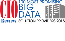 CIO Review 100 Most Promising Big Data Providers 2015