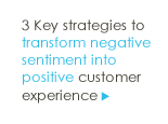 3 Key Strategies for Transforming Negative Sentiment into Positive Customer Experience
