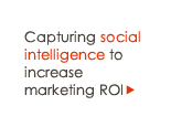 Capturing social intelligence to increase marketing ROI