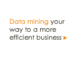Data mining your way to a more efficient business