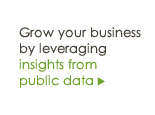 Grow your business by leveraging insights from public data