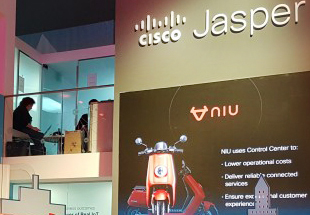 Cisco Jasper booth at Mobile World Congress